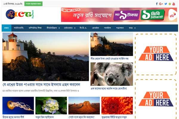 WordPress News Theme (Banglamail)